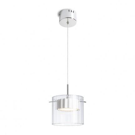 RENDL závěsné svítidlo ESTRA I závěsná bílá čiré sklo 230V LED 5W 3000K R11679 1