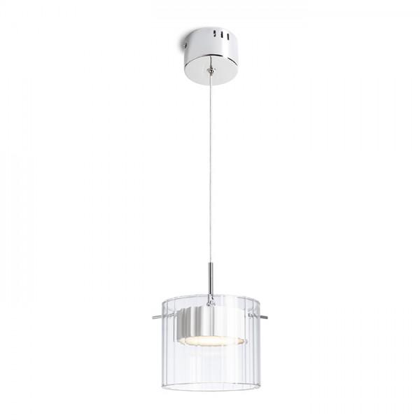 RENDL hanglamp ESTRA I hanglamp wit Helder glas 230V LED 5W 3000K R11679 1