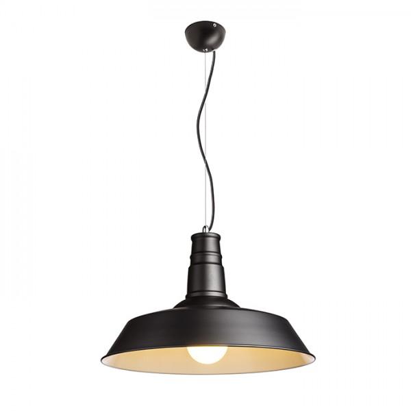 RENDL függő lámpatest GOLDIE 46 függeszték fekete/fehér 230V E27 42W R11690 1