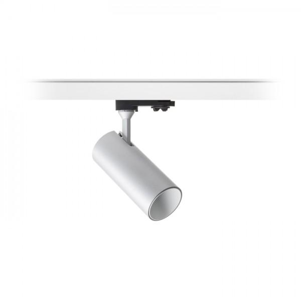 TRAX pre trojokruh. lištu striebornosivá/biela  230V/400mA LED 15W 38°  3000K