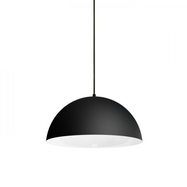 MONROE 40 závesná matná čierna/biela  230V E27 42W