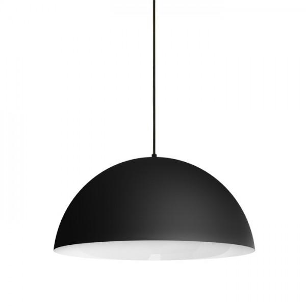 RENDL pendent MONROE 50 pendant matt black/white 230V E27 42W R11702 1