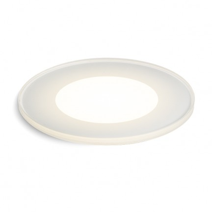 RENDL outdoor lamp CLARO recessed opal-colored glass 230V LED 4W IP67 2700K R11721 1
