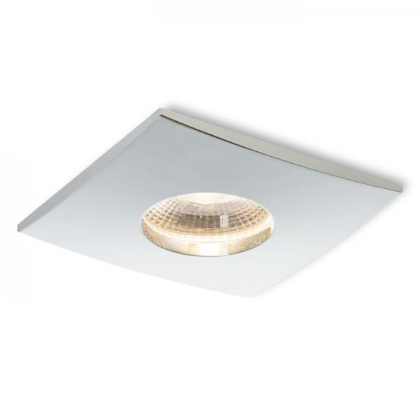 WATERBOY SQ   chróm 230V LED 10W 40° IP65  3000K