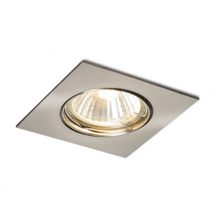 RENDL recessed light TOPIC SQ directional matt nickel 230V GU10 50W R11732 1