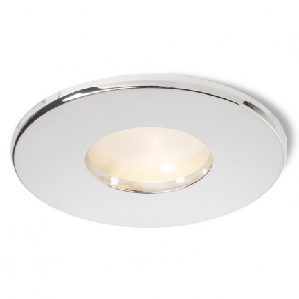 RENDL verzonken lamp SPLASH R inbouwlamp Chroom 230V GU10 50W IP65 R11733 1
