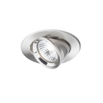 RENDL indbygget lampe VIP udfoldbar mat nikkel 230V GU10 50W R11737 1