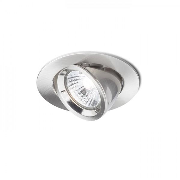 RENDL vestavné světlo VIP výklopná matný nikl 230V GU10 50W R11737 1