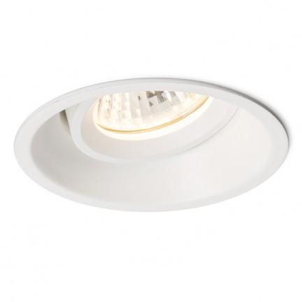 RENDL indbygget lampe SOBER indbygget hvid 230V GU10 50W R11738 1