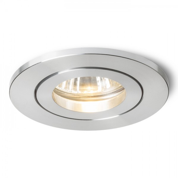 RENDL recessed light TINO recessed polished aluminium 230V GU10 50W R11739 1
