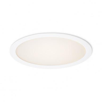 RENDL vestavné světlo SLENDER R 30 zápustná bílá 230V LED 24W 3000K R11748 1