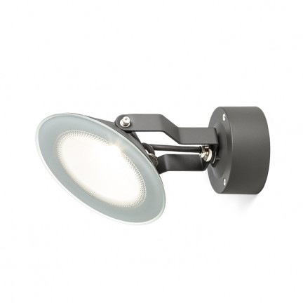 RENDL buiten lamp FOX buitenspot antracietgrijs 230V LED 9W 120° IP65 3000K R11753 1