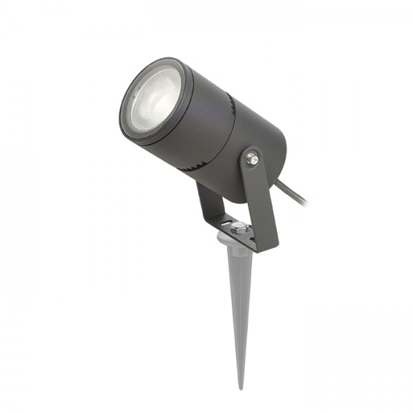 RENDL outdoor lamp ROSS outdoor reflector anthracite grey 230V LED 9W 30° IP65 3000K R11754 1