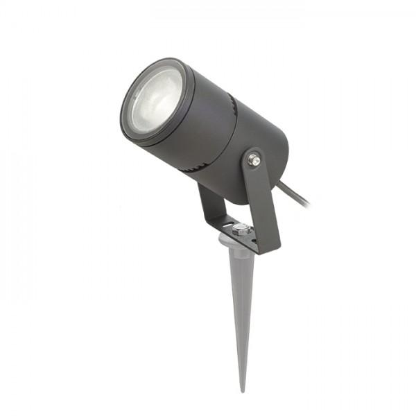 RENDL kültéri lámpa ROSS kültéri reflektor anrtracitszürke 230V LED 9W 30° IP65 3000K R11754 1