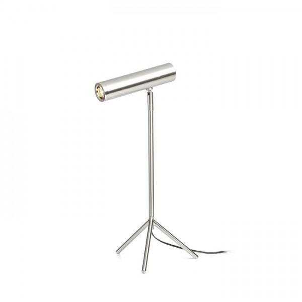 RENDL lámpara de mesa COZY de mesa níquel mate 230V LED 3.5W 3000K R11759 1