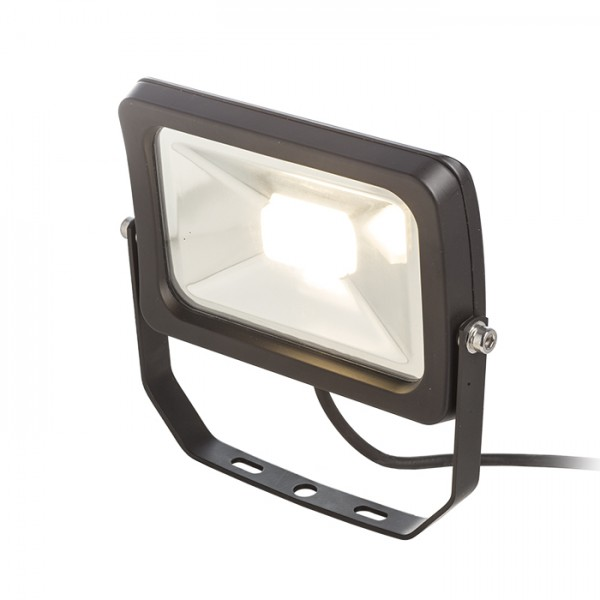 RENDL outdoor lamp ROB outdoor reflector black 230V LED 20W 120° IP65 3000K R11760 1