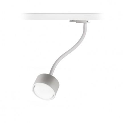 RENDL LED-nauhat ja järjestelmät PIXIE taipuva varsi 3-vaihekiskolle valkoinen 230V LED GX53 7W R11768 1