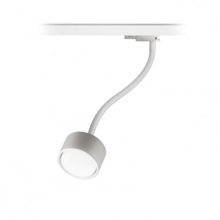 RENDL tiras y sistemas LED PIXIE en cuello de ganso para carril trifásico blanco 230V LED GX53 7W R11768 1