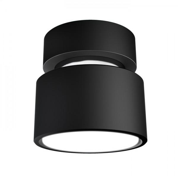 PIXIE stropná čierna chróm 230V LED GX53 7W
