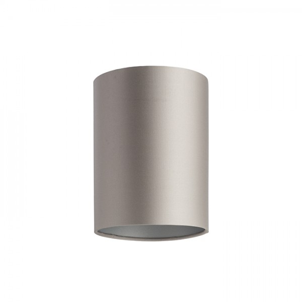 RENDL shades and accessories, bases, pendent sets RON 15/20 shade Monaco dove gray/silver PVC max. 28W R11810 1