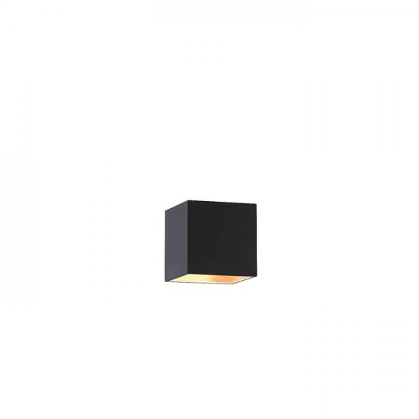TEMPO 15/15 tienidlo  Pollycotton čierna/medená fólia  max. 28W