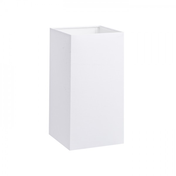 RENDL shades for lamps TEMPO 15/30 shade Polycotton white/white PVC max. 28W R11822 1
