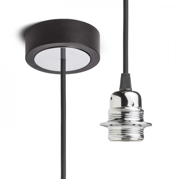 RENDL shades and accessories, bases, pendent sets HEX pendant set BB+BC+CHF+CHC1 230V E27 28W R11909 1