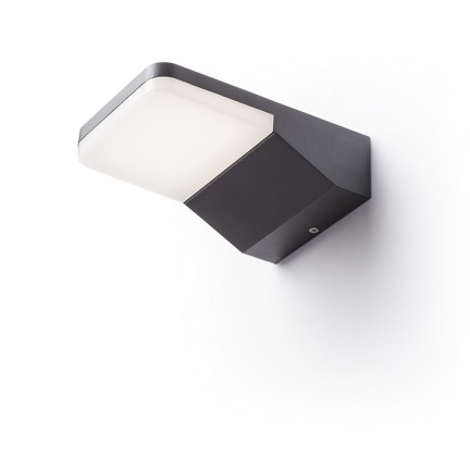 RENDL outdoor lamp VIRGO wall anthracite grey 230V LED 9W IP65 3000K R11946 1