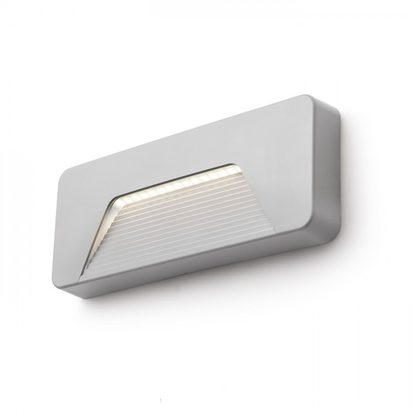 RENDL outdoor lamp RENO SQ INDR wall grey 230V LED 3W IP65 3000K R11950 1