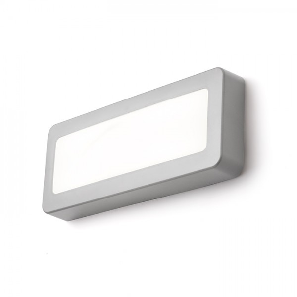 RENDL outdoor lamp RENO SQ DR surface mounted grey 230V LED 5W IP65 3000K R11951 1