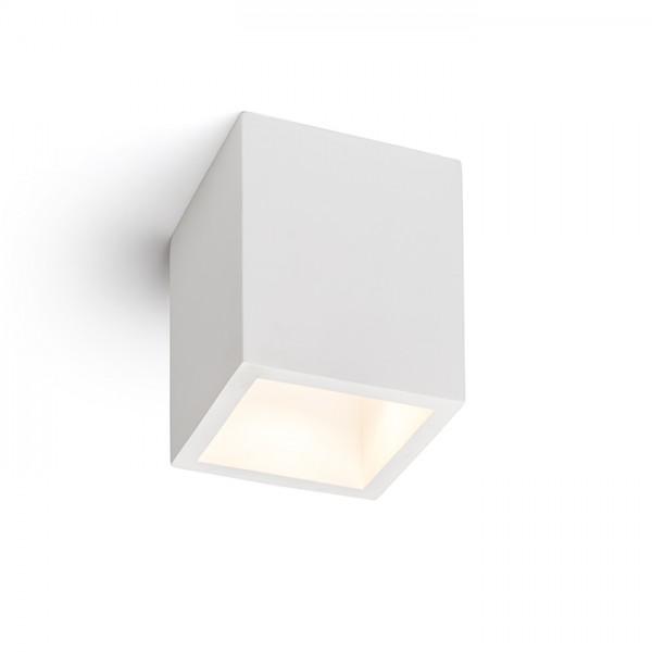 RENDL felületre szerelhető lámpatest JACK SQ mennyezeti lámpa gipsz 230V LED GU10 15W R11957 1