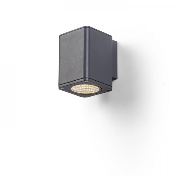 RENDL outdoor lamp MIZZI SQ I wall anthracite grey 230V LED 12W 44° IP54 3000K R11964 1