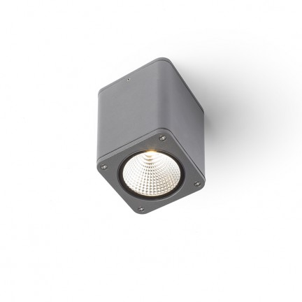RENDL outdoor lamp MIZZI SQ ceiling anthracite grey 230V LED 12W 46° IP54 3000K R11966 1
