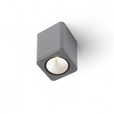 RENDL buiten lamp MIZZI SQ plafondlamp antracietgrijs 230V LED 12W 46° IP54 3000K R11966 1