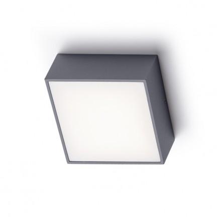 RENDL buiten lamp BONO opbouwlamp antracietgrijs 230V LED 4W IP65 3000K R11967 1