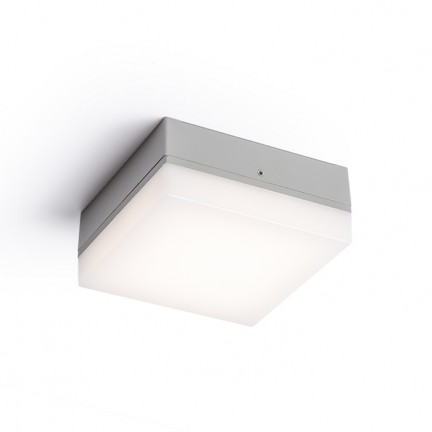 RENDL outdoor lamp SPECTACLE surface mounted silvergrey 230V LED 5W IP54 3000K R11968 1