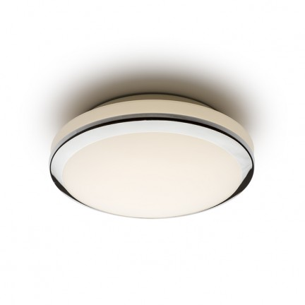 RENDL surface mounted lamp BALLA ceiling chrome 230V LED 24W IP44 3000K R12008 1