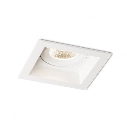 RENDL recessed light TIM recessed white 230V LED 10W 3000K R12009 1
