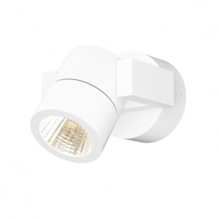 RENDL outdoor lamp ORIT wall white 230V LED 6W 80° IP44 3000K R12020 1