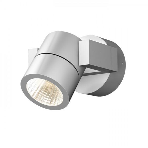 ORIT nástenná  hliník 230V LED 6W 80° IP44  3000K