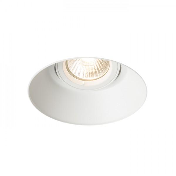RENDL luminaire plafond IPSO R frameless blanc 230V GU10 50W R12046 1