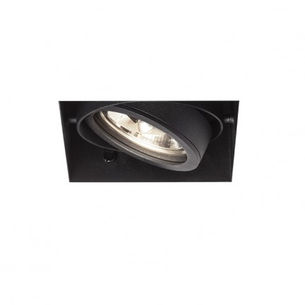 RENDL recessed light ELECTRA I black 12V G53 50W R12050 1