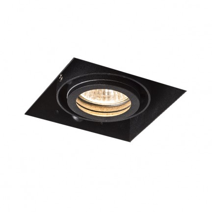 RENDL recessed light ELECTRA I black 230V GU10 50W R12052 1