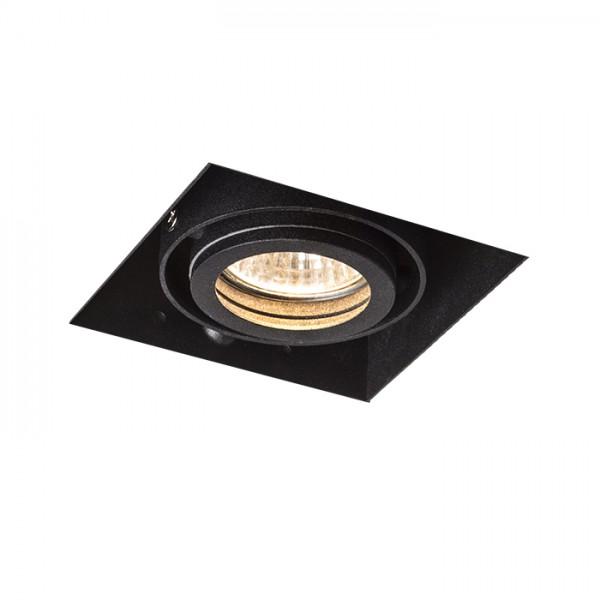 RENDL verzonken lamp ELECTRA I zwart 230V GU10 50W R12052 1