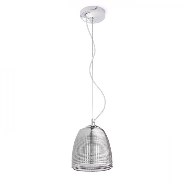 RENDL pendent AZRIA pendant smoke-colored glass 230V G9 25W R12056 1
