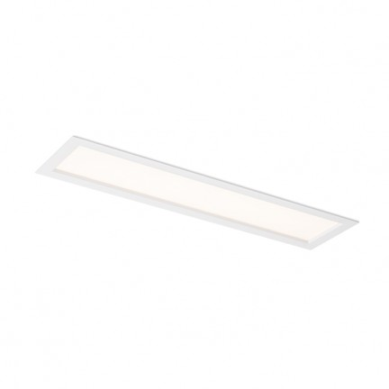 RENDL verzonken lamp STRUCTURAL LED 60x15 inbouwlamp wit 230V LED 22W 3000K R12061 1