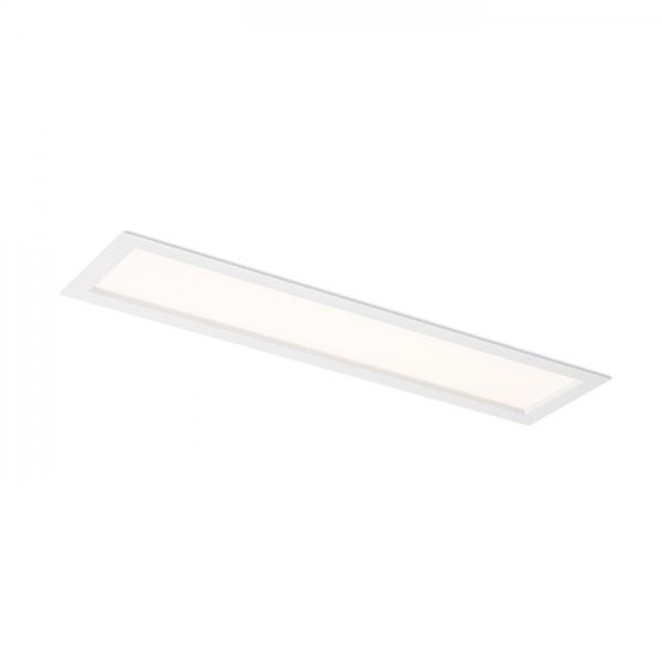 RENDL verzonken lamp STRUCTURAL LED 60x15 inbouwlamp zuiver wit 230V LED 22W 3000K R12061 1