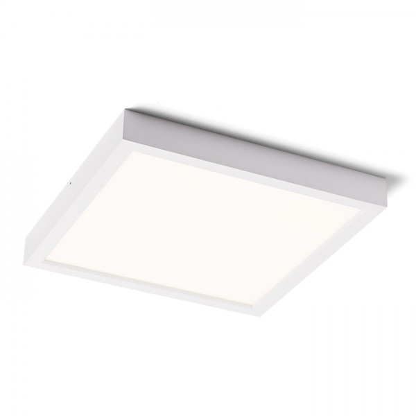 RENDL surface mounted lamp STRUCTURAL LED 40x40 surface mounted white 230V LED 40W 3000K R12063 1