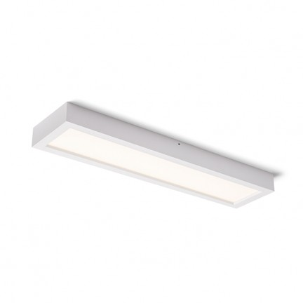 RENDL luminaire encastrable STRUCTURAL LED 60x15 montage en surface blanc 230V LED 22W 3000K R12064 1