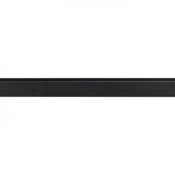 EUTRAC 1m trojokruhová lišta čierna  230V